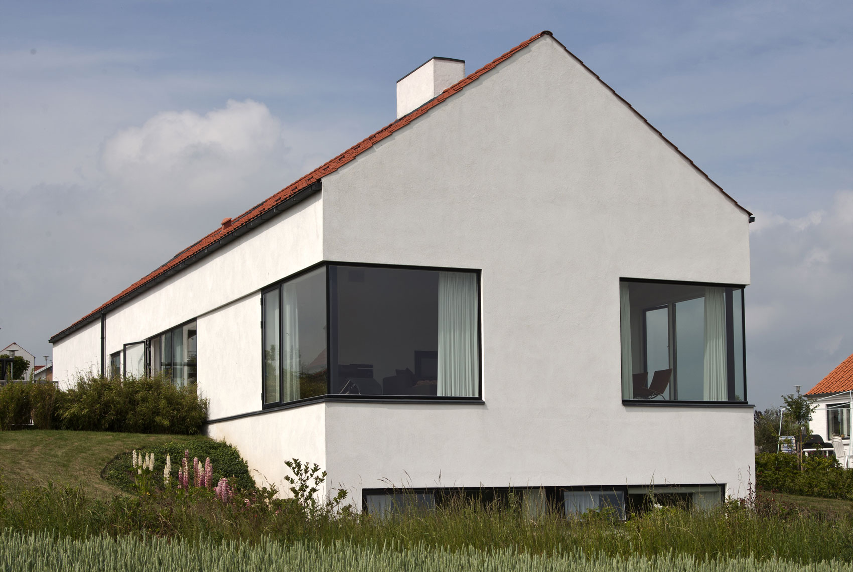 Et længehus er et godt familihus (foto ltm.dk)