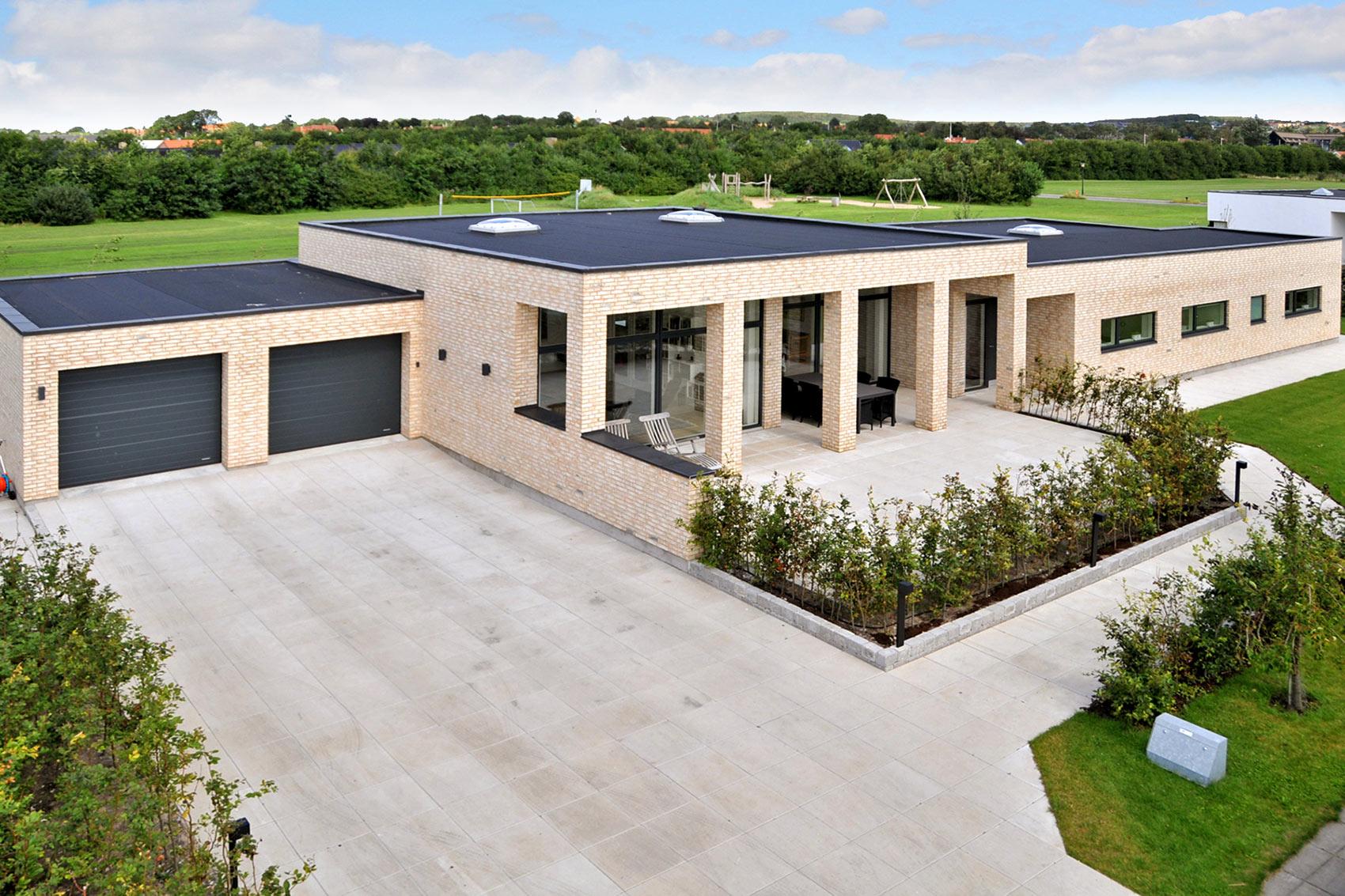 Moderne villa arkitektur for Funkis house